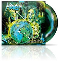 Havok - Unnatural Selection [Black/Green w/ White & Blue Swirl LP]
