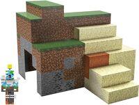 Minecraft - Mattel Collectible - Minecraft 3.25 Sustainable Playset