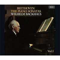 Beethoven / Wilhelm Backhaus - Beethoven: Piano Sonatas Vol 1 [Remastered] (Jpn)