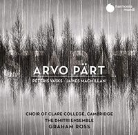 Choir Of Clare College / Graham Ross - Stabat - Arvo Part James Macmillan & Peteris Vasks