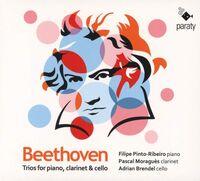 Beethoven / Pinto-Filipe Ribeiro  / Moragues,Pascal - Beethoven: Trios For Piano Clarinet & Cello (Spa)
