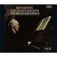 Beethoven / Wilhelm Backhaus - Beethoven: Piano Sonatas Vol 2 [Remastered] (Shm) (Jpn)