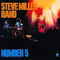 Steve Miller - Number 5 [Orange LP]