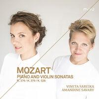 Mozart / Savary / Sareika - Piano & Violin Sonatas