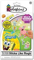 Colorforms Spongebob Squarepants Silly Scenes - Colorforms Nickelodeon SpongeBob SquarePants Silly Scenes Travel Set