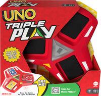 Uno - Mattel Games - UNO Triple Play