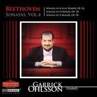 GARRICK OHLSSON - Sonatas 4