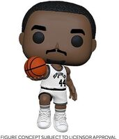 Funko Pop! NBA: - FUNKO POP! NBA: Legends- George Gervin (Spurs Home)