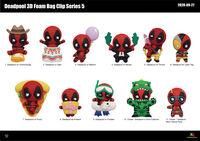 Marvel Deadpool Series 5 - 3D Foam Bag Clips - Marvel Deadpool Series 5 - 3d Foam Bag Clips (Key)