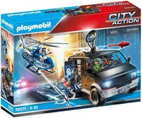 Playmobil - City Action Helicopter Pursuit With Runaway Van
