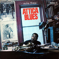 Archie Shepp - Attica Blues - Single [Vinyl]