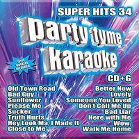 Party Tyme Karaoke - Party Tyme Karaoke: Super Hits 34 (Various Artists)