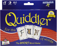 Quiddler for the Fun of Words the Short Word Game - Quiddler For The Fun Of Words The Short Word Game