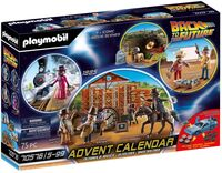 Playmobil - Advent Calendar Back To The Future Part Iii (Cal)