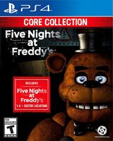 Ps4 5 Nights at Freddy's: Core Collection - Five Nights at Freddy's: The Core Collection for PlayStation 4