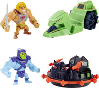 Masters Of The Universe - Mattel Collectible - Masters of the Universe Masterverse Mini Eternia Vehicle and Creature Assortment (He-Man, MOTU)