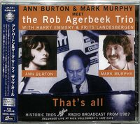 Ann Burton  / Murphy,Mark - That's All [Remastered] (Jpn)