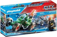 Playmobil - City Action Police Go Kart Escape (Fig)