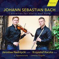 J Bach .S. / Kaczka / Nadrzycki - Concerto For Violin & Flute