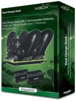 Xbox One - DreamGear Dual Charging Dock for Xbox One