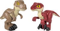 Imaginext Jurassic World - Fisher Price - Imaginext Jurassic World 10 2-Pack