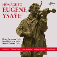 Knox / Darvarova / Zelenka - Homage To Eugene Ysaye (2pk)