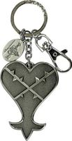 Kingdom Hearts Heartless Pewter Key Ring - Kingdom Hearts Heartless Pewter Key Ring