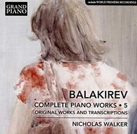 Nicholas Walker - Complete Piano Works 5