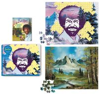 Pearlman, Robb - Bob Ross Happy Little 500-Piece Puzzle