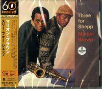 Marion Brown - Three For Shepp (SHM-CD)