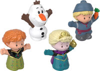 Little People - Fisher Price - Little People Frozen Figures 4-Pack (Disney)