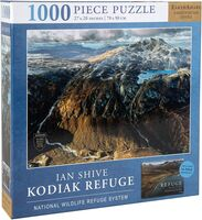 Shive, Ian - Jigsaw Puzzle Ian Shive: Refuge, Kodiak, 1,000 Pieces, 20 x 27 - withExclusive Book