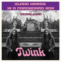 Twink - 000 10  Words In A Cardboard Box (Uk)