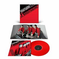 Kraftwerk - Die Mensch-Maschine (German Version) [Transparent Red Colored Vinyl]