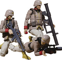 Megahouse - Megahouse - GMG MSG Earth United Army Soldier 3Pc PVC Set With Gift