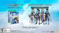 Xb1 Sword Art Online Alicization Lycoris - SWORD ART ONLINE Alicization Lycoris for Xbox One