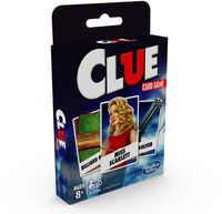 Games - Hasbro Gaming - Clue Classic Card Game