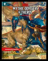Wizards Rpg Team - Dungeons & Dragons Mythic Odysseys of Theros: Campaign Setting andAdventure Book (Dungeons & Dragons, D&D)