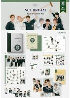 NCT Dream - 2021 NCT Dream Back To School Kit (Mark Version) (incl. 100 DaysChallenge Poster, Mini Brochure, 80pg Notepa, Clear Bookmark Set