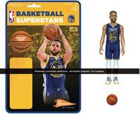 NBA Reaction Figure - Steph Curry (Warriors) - Super7 - NBA ReAction Figure - Steph Curry (Warriors)