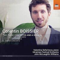 Valentina Seferinova - Piano Concertos