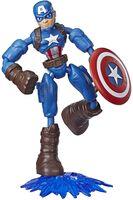 Avengers - Avengers Bendy Figure Captain America (Afig)