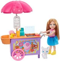Barbie - Mattel - Barbie Chelsea Snack Cart