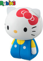 Rubiks Charaction - Bandai America - Rubik's Charaction Cube Puzzle Hello Kitty