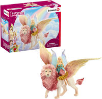 Schleich - Schleich Fairy in Flight on Winged Lion