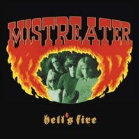 Mistreater - Hell's Fire [Colored Vinyl] (Org) (Red) (Ylw) [Remastered] [Reissue]