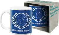 Star Trek United Federation of Planets 11Oz Mug - Star Trek United Federation Of Planets Logo 11oz Mug Boxed