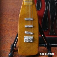 John Fogerty - John Fogerty Centerfield Baseball Bat Mini Guitar