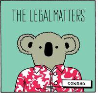 The Legal Matters - Conrad [Vinyl]