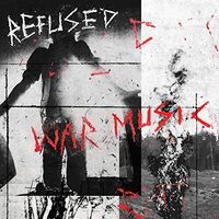 Refused - War Music [Limited Edition Red w/Black Starburst LP]